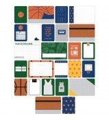 Project Life Basketball Theme cards by Becky Higgins and American Crafts