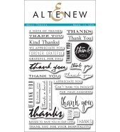 Altenew MANY THANKS stamp set