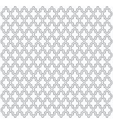 Crafter's Workshop Template Quatrefoil 6x6