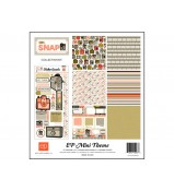 "Echo Park Oh Snap Collection Kit 12""x 12"" Mini Theme"