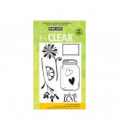 Hero Arts Love Jar stamp set