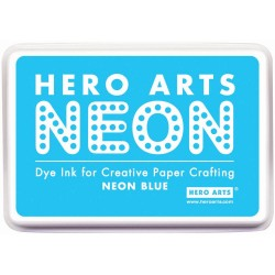 Hero Arts Inkpad NEON BLUE