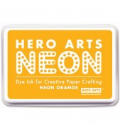 Hero Arts Inkpad NEON ORANGE