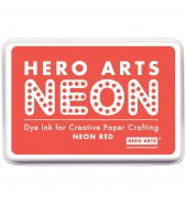 Hero Arts Inkpad NEON RED