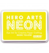 Hero Arts Inkpad NEON YELLOW