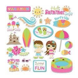 Imaginisce Makin Waves Die Cuts pack
