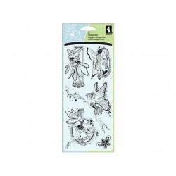 Inkadinkado Fairies Clear Stamps