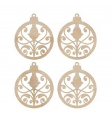 Kaisercraft Mini Ornaments Wood Flourishes