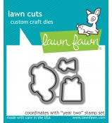 Lawn Fawn Year Two Turtle die set