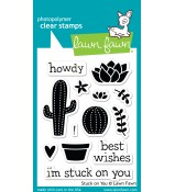 Lawn Fawn STUCK ON YOU stamp set