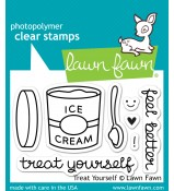 Lawn Fawn TREAT YOURSELF stamp set: