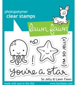 Lawn Fawn SO JELLY stamp set: