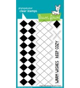 Lawn Fawn ARGYLE BACKDROPS stamp set