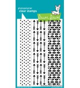 Lawn Fawn Sharp Backdrops stamp set