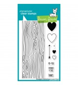 Lawn Fawn Woodgrain Backdrop stamp set