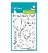 Lawn Fawn BLUE SKIES stamp set