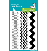 Lawn Fawn CHEVRON BACKDROPS stamp set