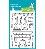 Lawn Fawn Cozy Christmas stamp set