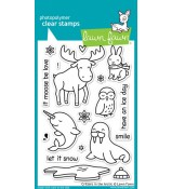 Lawn Fawn CRITTERS IN THE ARCTIC stamp set