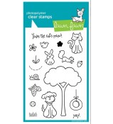 Lawn Fawn CRITTERS IN THE BURBS stamp set
