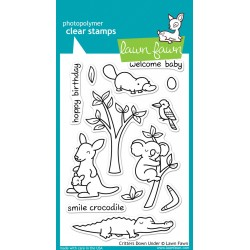 Lawn Fawn CRITTERS DOWN UNDER stamp set