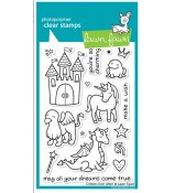 Lawn Fawn CRITTERS EVER AFTER stamp set