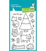 Lawn Fawn CRITTERS IN THE FOREST stamp set