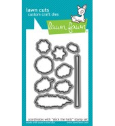 Lawn Fawn DECK THE HALLS dies Lawn Cuts