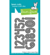 Lawn Fawn FINLEY'S 123s die set