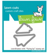 Lawn Fawn FLYING BY die set