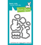 Lawn Fawn Happy Easter die set