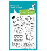 Lawn Fawn Happy Easter stamp set