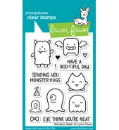 Lawn Fawn MONSTER MASH stamp set