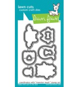 Lawn Fawn MONSTER MASH dies Lawn Cuts