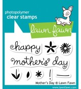 Lawn Fawn Mother's Day stamp set