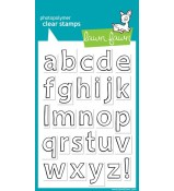 Lawn Fawn Quinn's ABCs LOWERCASE stamp set