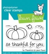 Lawn Fawn So Thankful stamp set: