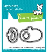 Lawn Fawn So Thankful dies Lawn Cuts