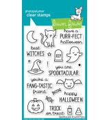 Lawn Fawn SPOOKTACULAR stamp set