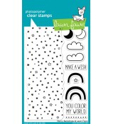 Lawn Fawn Starry Backdrops stamp set