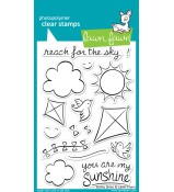 Lawn Fawn Sunny Skies stamp set