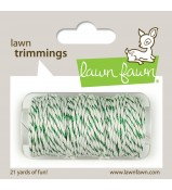 Lawn Fawn GREEN SPARKLE cord twine