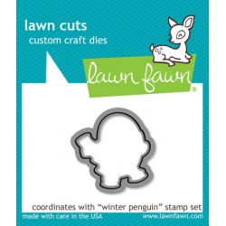 Lawn Fawn Winter Penguin die Lawn Cuts