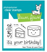 Lawn Fawn Year Three stamp set