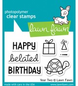 Lawn Fawn Year Two Turtle stamp set