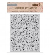 BasicGrey RSVP Tiny Stars Background Stamp