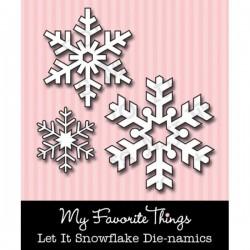 MFT Die-namics Let It Snowflake die set