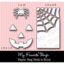 MFT Die-namics Paper Bag Peek-a-Boos die set