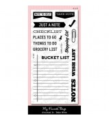 MFT Laina Lamb's Journal It Take Note stamp set