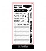 MFT Laina Lamb's Journal It Take Note stamp set